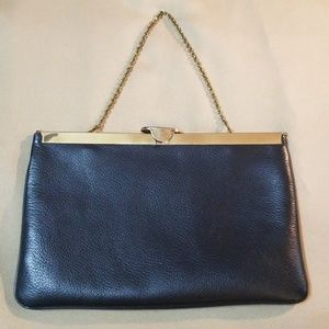 Genuine Vintage Etra Handbag - Black